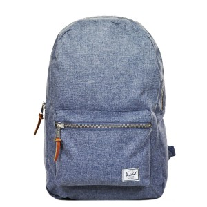 Herschel Sac à dos Settlement dark chambray crosshatch vente