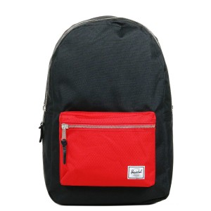 Black Friday 2020 | Herschel Sac à dos Settlement black/scarlet vente