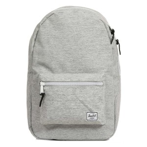 Herschel Sac à dos Settlement light grey crosshatch vente