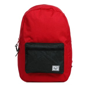 Vacances Noel 2019 | Herschel Sac à dos Settlement barbados cherry crosshatch/black crosshatch vente