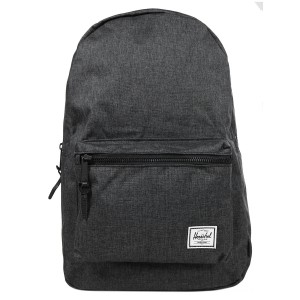 Vacances Noel 2019 | Herschel Sac à dos Settlement black crosshatch/black rubber vente