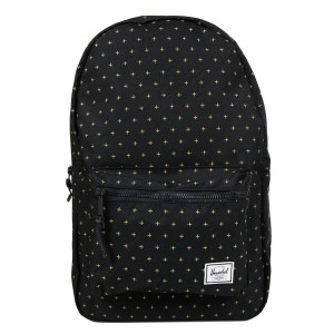 Black Friday 2020 | Herschel Sac à dos Settlement black gridlock gold vente