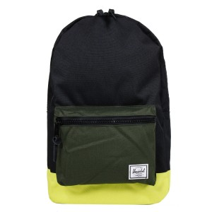 Black Friday 2020 | Herschel Sac à dos Settlement black/forest night/evening primrose vente