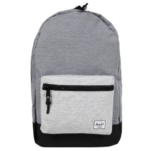 Herschel Sac à dos Settlement mid grey crosshatch/black/light grey crosshatch vente