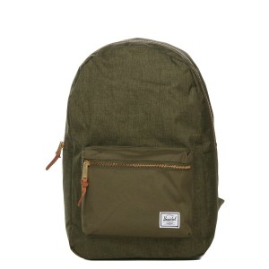 Herschel Sac à dos Settlement olive night crosshatch/olive night vente