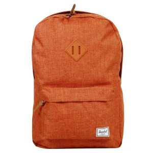 Vacances Noel 2019 | Herschel Sac à dos Heritage burnt orange crosshatch vente