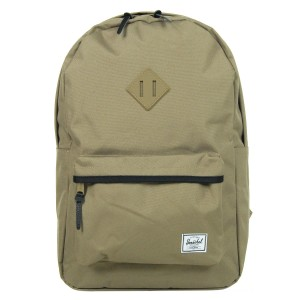 Herschel Sac à dos Heritage lead green/black/lead green rubber/black vente