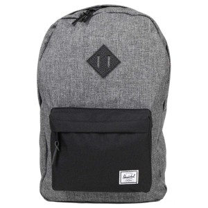 Black Friday 2020 | Herschel Sac à dos Heritage raven crosshatch/black/black pebbled vente