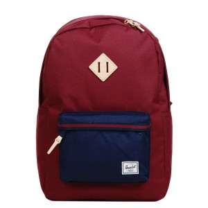 Black Friday 2020 | Herschel Sac à dos Heritage Offset windsor wine/peacoat vente