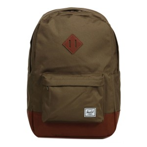 Black Friday 2020 | Herschel Sac à dos Heritage cub/tan synthetic leather vente