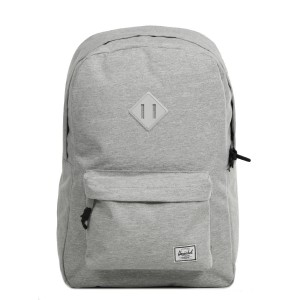 Herschel Sac à dos Heritage light grey crosshatch vente