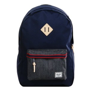 Black Friday 2020 | Herschel Sac à dos Heritage Offset peacoat/dark denim vente
