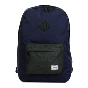 Black Friday 2020 | Herschel Sac à dos Heritage peacoat/black crosshatch vente