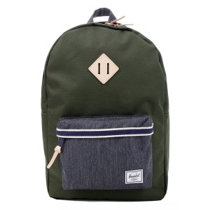 Black Friday 2020 | Herschel Sac à dos Heritage Offset forest night/ dark denim vente