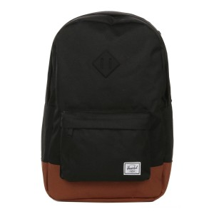 Herschel Sac à dos Heritage black/saddle brown vente