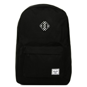 Black Friday 2020 | Herschel Sac à dos Heritage black/checkerboard vente