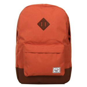 Herschel Sac à dos Heritage apricot brandy/saddle brown vente