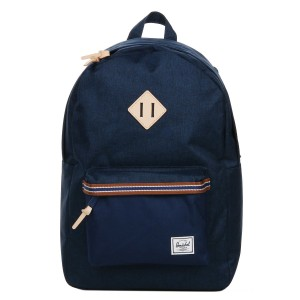 Black Friday 2020 | Herschel Sac à dos Heritage Offset medieval blue crosshatch/medieval blue vente