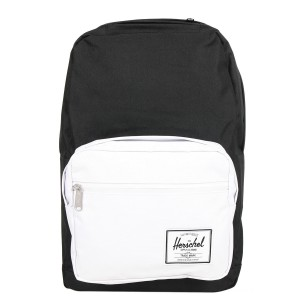 Black Friday 2020 | Herschel Sac à dos Pop Quiz black/white rubber vente