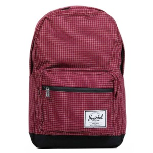 Herschel Sac à dos Pop Quiz windsor wine grid/black vente