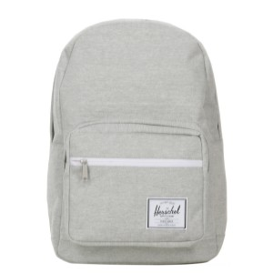 Herschel Sac à dos Pop Quiz light grey crosshatch vente