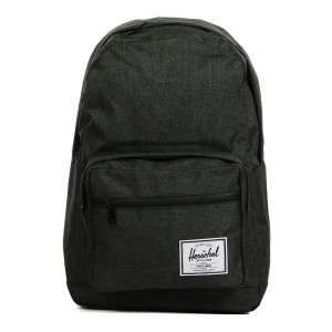 Herschel Sac à dos Pop Quiz black crosshatch/black rubber vente