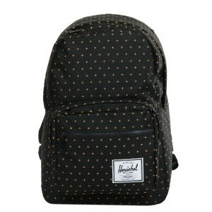Black Friday 2020 | Herschel Sac à dos Pop Quiz black gridlock gold vente