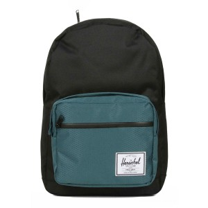 Herschel Sac à dos Pop Quiz black/deep teal vente