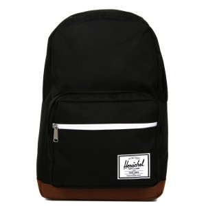 Herschel Sac à dos Pop Quiz black/saddle brown vente