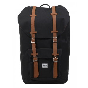 Herschel Sac à dos Little America black/tan vente