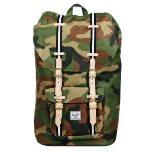 Black Friday 2020 | Herschel Sac à dos Little America Offset woodland camo/black/white vente