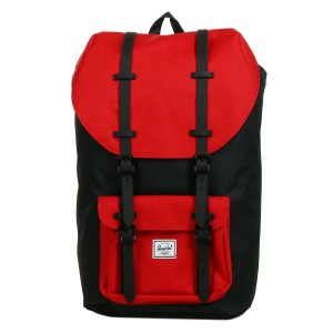 Black Friday 2020 | Herschel Sac à dos Little America black/scarlet vente