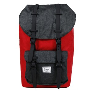 Black Friday 2020 | Herschel Sac à dos Little America barbados cherry crosshatch/black crosshatch vente