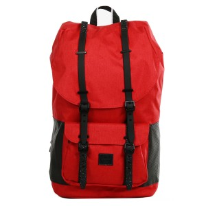 Herschel Sac à dos Little America Aspect barbados cherry crosshatch/black vente