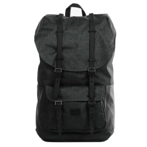 Black Friday 2020 | Herschel Sac à dos Little America Aspect black crosshatch/black/white vente