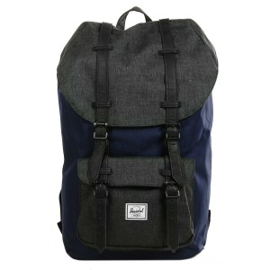 Herschel Sac à dos Little America peacoat/black crosshatch vente