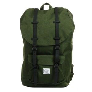 Herschel Sac à dos Little America forest night/black vente