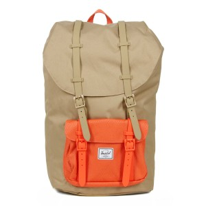Vacances Noel 2019 | Herschel Sac à dos Little America kelp/vermillion orange vente