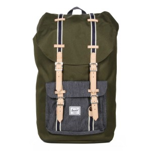 Herschel Sac à dos Little America Offset forest night/ dark denim vente