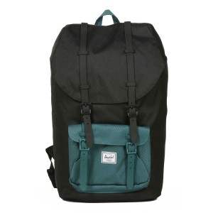 Vacances Noel 2019 | Herschel Sac à dos Little America black/deep teal vente