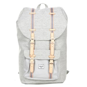 Herschel Sac à dos Little America Offset light grey crosshatch/high rise vente