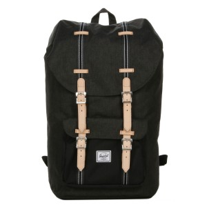 Herschel Sac à dos Little America Offset black crosshatch/black vente