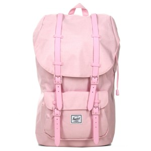 Herschel Sac à dos Little America pink lady crosshatch vente