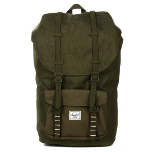Black Friday 2020 | Herschel Sac à dos Little America olive night crosshatch/olive night vente
