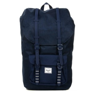 Vacances Noel 2019 | Herschel Sac à dos Little America medievel blue crosshatch/medievel blue vente