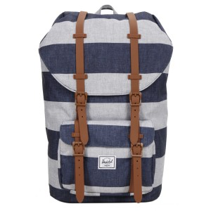 Vacances Noel 2019 | Herschel Sac à dos Little America border stripe/saddle vente
