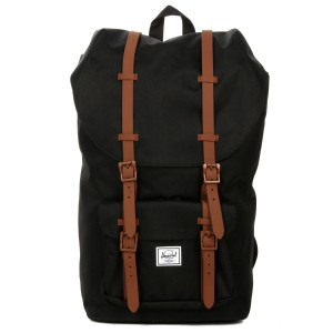 Herschel Sac à dos Little America black/saddle brown vente