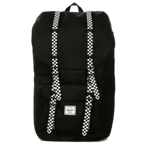 Black Friday 2020 | Herschel Sac à dos Little America black/checkerboard vente