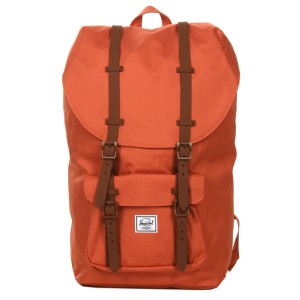 Herschel Sac à dos Little America apricot brandy/saddle brown vente