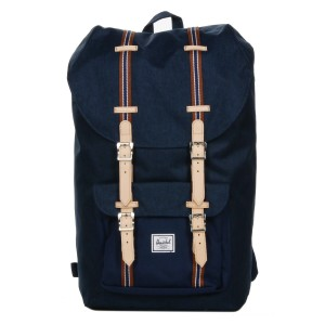 Black Friday 2020 | Herschel Sac à dos Little America Offset medieval blue crosshatch/medieval blue vente